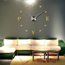 digital office wall clocks digital. Contemporary Oversized Wall Clocks 2015 New Clock Quartz Living Room Diy Modern Design Watch . Digital Office