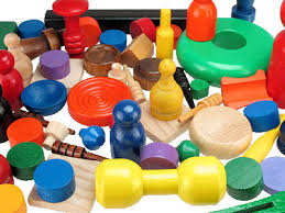 Wooden Game Pieces Bulk