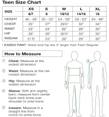 Ski Length Chart Child Teen Sizing Sport Obermeyer
