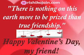 Valentine Quotes For Friends Fascinating Happy Valentine's Day My Friends Inspirational Quotes Pictures