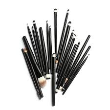 20pcs makeup brushes set powder foundation eyeshadow eyeliner lip brush professional makeup for mac makeup kit sosmetic tool in makeup brushes tools from