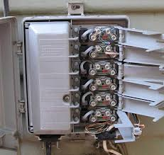 fixing dsl lost sync problem rdist Qwest Nid Wiring Guide inside the telco box
