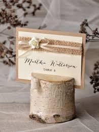 custom listing for tasha wedding place cards name tags favour bag Rustic Wedding Place Card Ideas rustic place card holder with place card birch от 4lovepolkadots, $3,00 rustic wedding place card holders