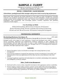Sample Resume For Retail Store Manager Regular Great Retail Management Resume Examples Sample Resume For 11