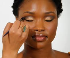 how to apply makeup as a nigerian lady