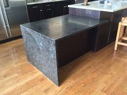 elegant leathered granite for your kitchen countertop design idea attractive kitchen black pearl leathered granite