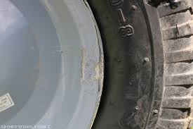 tires will eventually fall apart completely they are more hassle than they re worth i did not think cart tires were really that bad