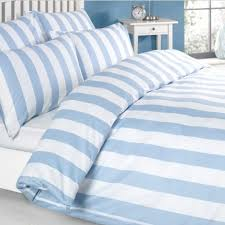 blue and white striped duvet cover.  White Louisiana Vertical Stripe Blue And White Duvet Cover Set 100 Cotton 200  Thread Count In And Striped