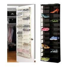 hanging door closet organizer. Image Is Loading 26-Pocket-Shoe-Rack-Storage-Organizer-Holder-Folding- Hanging Door Closet Organizer O