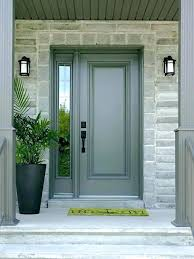 Single French Door With Sidelights And Best Exterior French Doors