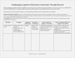 Challenging thoughts Worksheet – webmart.me