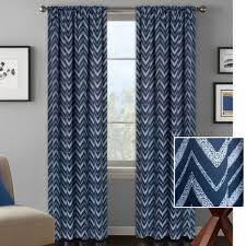 Walmart Curtains For Living Room Better Homes And Gardens Textured Chevron Room Darkening Curtain