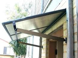 glass door awning s front canopy sliding glass door awning