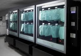 Scrub Vending Machine Cool Surgical Pyjamas Vending Machine PPE Machines Safety Industrial