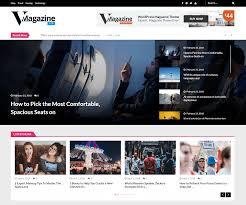 Wordpress Template Newspaper 15 Best Free News Magazine Wordpress Themes 2019