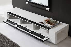 modern tv stand white. b-modern editor remix tv stand | white high-gloss modern tv e