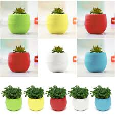 office flower pots. Candy Colourful Mini Slim Round Plastic Plant Flower Pot Home Office Decoration-in Trays From \u0026 Garden On Aliexpress.com   Alibaba Group Pots