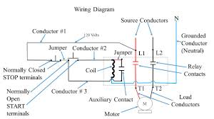 push button station and relay ppt video online download 240v relay wiring diagram at 120 Volt Relay Wiring Diagram