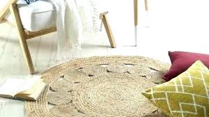 circular jute rug 4 round jute rug great x 6 grey foot rugs braided 3 j