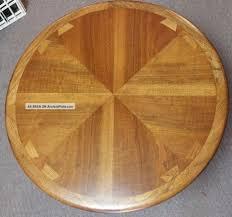 vintage lane acclaim round coffee table danish dovetail eames era mid century