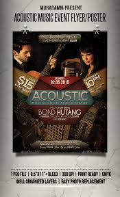 Flyer Samples For An Event Mesmerizing Acoustic Music Event Flyer Poster Acoustic Music Event Flyers
