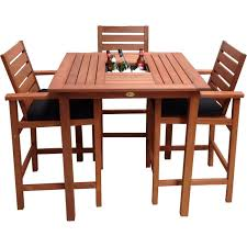 solid wood pub table and chairs round pub table with stools round wood pub table set high top table set tall square pub table