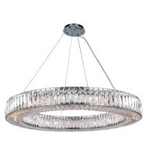 elegant lighting 2116g43c rc cuvette 24 light 43 inch chrome chandelier ceiling light royal cut clear crystal