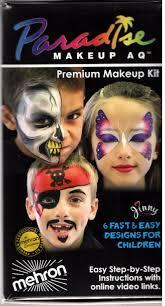 paradise makeup face painting kit kmp 8c