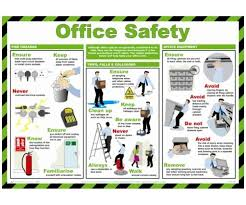 office safety poster 590 x 420mm best office posters