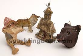 Russian and German Christmas ornaments of 1900s