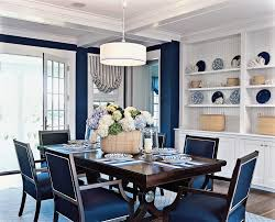 blue and white dining room ideas40 ideas
