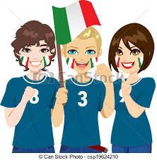 football fan clipart. italian soccer fans - csp19624210 football fan clipart i