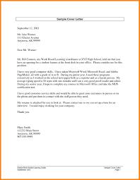 11 Cover Letter For High School Student Memo Heading