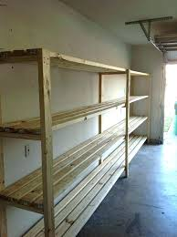 build shelf for garage basement storage shelves garage shelves plans do it yourself home projects from
