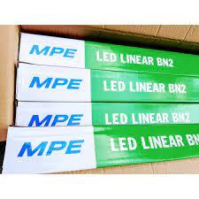 Bộ đèn Led bán nguyệt MPE 36W 1m2 1,2m ánh sáng trắng bảo hành 5 năm (  chính hãng ) chính hãng 159,000đ