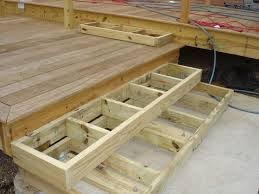 building deck stairs. Fine Building Deck Stairs Landing With Box  Stairs To Pationeed Help Plants For The  Deck And Backyard Pinterest Deck Porch Building