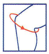 Risultati immagini per misure ginocchio flesso