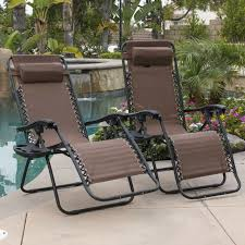 zero gravity lounge chairs patio beach