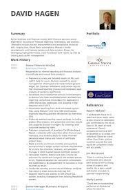 resume of financial analyst senior fina resumes examples senior financial analyst resume