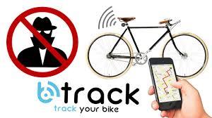 btrack antifurto localizzatore gps per biciclette antitheft