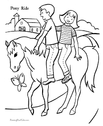 coloring pages of horses coloring library