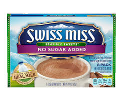 swiss miss hot cocoa no sugar added envelopes