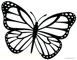 Printable Butterfly Outline Butterfly Outline Coloring Page Healthwarehouse Co