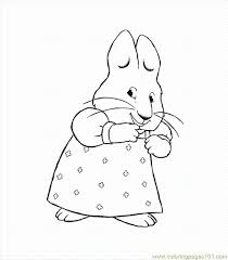 Small Picture Max And Ruby Coloring Pages