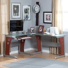 Slim Computer Desk Furniture Minimalistic Computer Desk With Futuristic Shape In
