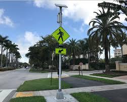 Rrfb Lights Led Blinking Signs Rectangular Rapid Flashing Beacons Rrfb