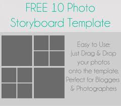 10 Photo Storyboard Template | Sarah Halstead