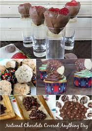 national chocolate covered anything day. Contemporary Chocolate National Chocolate Covered Anything Day  Covered Desserts For  Every Desired Taste Intended P