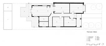 view in gallery floor plan of the elwood house before renovation
