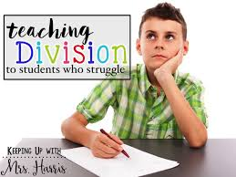 Image result for teaching division